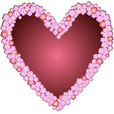 Free Decorative Valentine Frame Stock Photography - 15768182