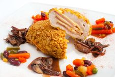 Free Chicken Cutlet Royalty Free Stock Images - 15768729