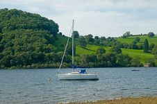 Free A Boat In Cumbria Royalty Free Stock Image - 15768826