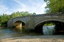 Free Bridged Waters Stock Photography - 15768942