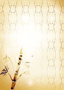 Free Bamboo Carelessly Drawn Stock Photography - 15769182