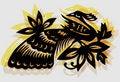 Free Retro Decorative Bird - Phoenix Royalty Free Stock Photography - 15773827