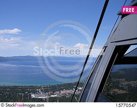 Lake Taho Stock Photo