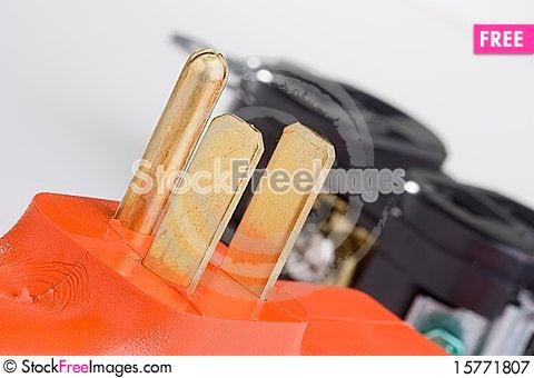Surge adapter Stock Photo