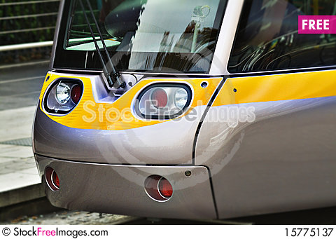 Free Front Of Tramway In Dublin Royalty Free Stock Photography - 15775137