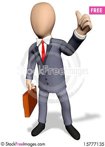 Free Ok Businessman Royalty Free Stock Photo - 15777135