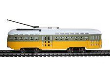 Free Tramway Electrique Jaune Stock Image - 15770261