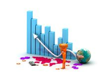 Free Business Graph Royalty Free Stock Photography - 15770607