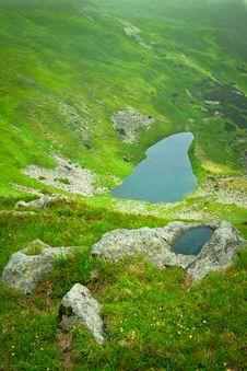 Free Alpine Lake Royalty Free Stock Photography - 15770707