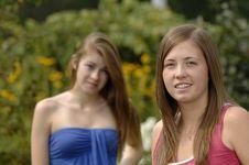 Free Teenage Girls Outdoors Stock Photos - 15772913