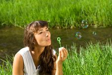 Free Blowing Bubbles Stock Photos - 15773623