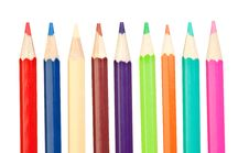 Free Colored Pencils Sharp Vertical Royalty Free Stock Photo - 15773915