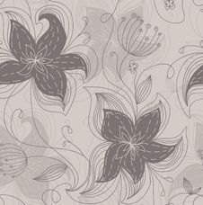 Free Floral Pattern Royalty Free Stock Photo - 15774665