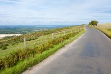 Free Hilltop Road Royalty Free Stock Images - 15774819