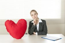 Free Valentine S Day In The Office Stock Photo - 15775320