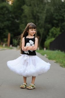 Free Adorable Toddler Girl With Very Long Dark Hair Royalty Free Stock Photography - 15775477