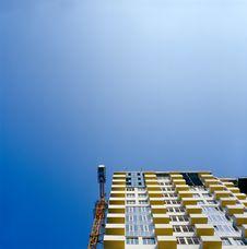 Free Under Construction Condo Building. Stock Photo - 15775490