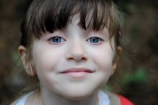 Free Nice Toddler Girl With Blue Eyes Royalty Free Stock Photography - 15775527