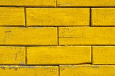 Yellow Wall Royalty Free Stock Photos