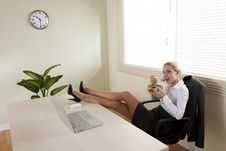 Free Lunch Break Stock Image - 15775721