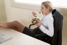 Free Lunch Break Stock Photography - 15775772