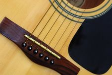 Free Acoustic Guitar Royalty Free Stock Photography - 15775827