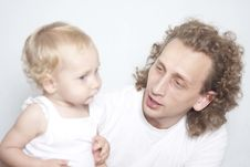 Free Father And Daughter Stock Photos - 15775883