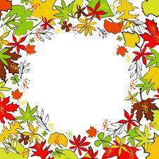 Free Autumn Illustration Royalty Free Stock Image - 15776446