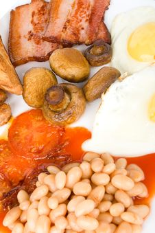 Free Traditional English Breakfast Royalty Free Stock Images - 15776539