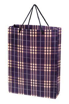 Free Shopping Bag On White Royalty Free Stock Image - 15776846