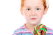 Free Big Lollipop Royalty Free Stock Photo - 15776885