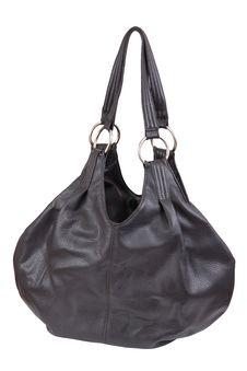 Woman Handbag, Isolated On White Stock Photography