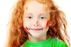 Free Red Haired Child Royalty Free Stock Photo - 15776995