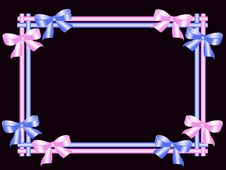 Free Frame With Abstract Butterflies Royalty Free Stock Photography - 15777237