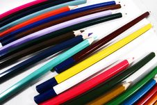 Free Colored Pencils Stock Image - 15777401