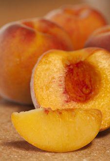 Free Ripe Peaches Royalty Free Stock Photos - 15777458