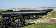 Free Fort George Cannons Royalty Free Stock Photos - 15777548