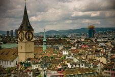 Free Zürich In Retro Style Stock Photography - 15777692