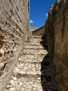 Free Matera Stairs Royalty Free Stock Photos - 15777938