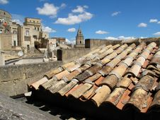 Free Matera Roof Royalty Free Stock Photography - 15777947