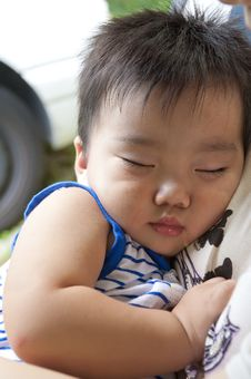 Free Happy Baby Sleeping Royalty Free Stock Photo - 15778035