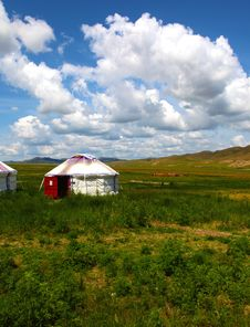 Free Mongolian Home Royalty Free Stock Photography - 15778497
