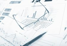 Charts, Diagrams, Tables. Stock Images
