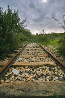 Free Abandoned Railway Line Royalty Free Stock Photo - 15779135