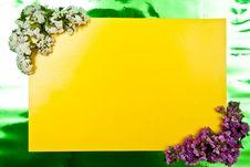 Free Yellow Greeting Card Stock Photos - 15779563