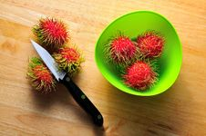 Free Rambutans Royalty Free Stock Photo - 15779935