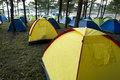 Free A Group Of Tents Stock Image - 15780311