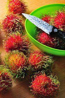 Free Rambutans Royalty Free Stock Photography - 15780027