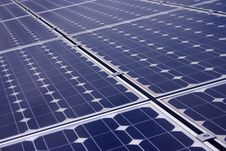 Free Solar Panels Closeup Royalty Free Stock Photography - 15780537