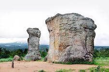 Free Stone Pole Royalty Free Stock Photography - 15780707